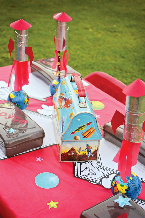 space theme kids table