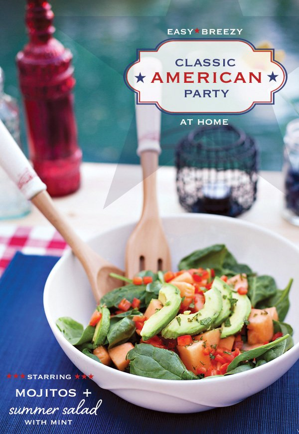 spinach cantaloupe salad with mint recipe