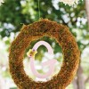 summer fairy wreath