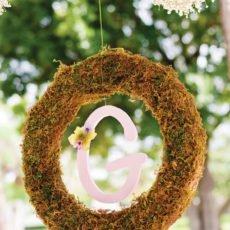 summer fairy wreath