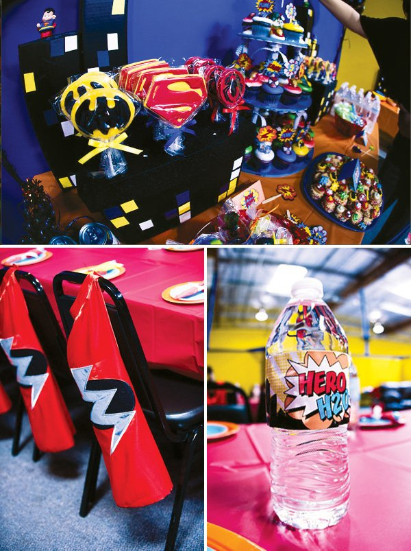 superhero cape party
