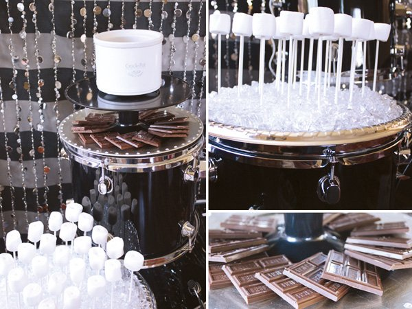 s'mores bar for a teen party
