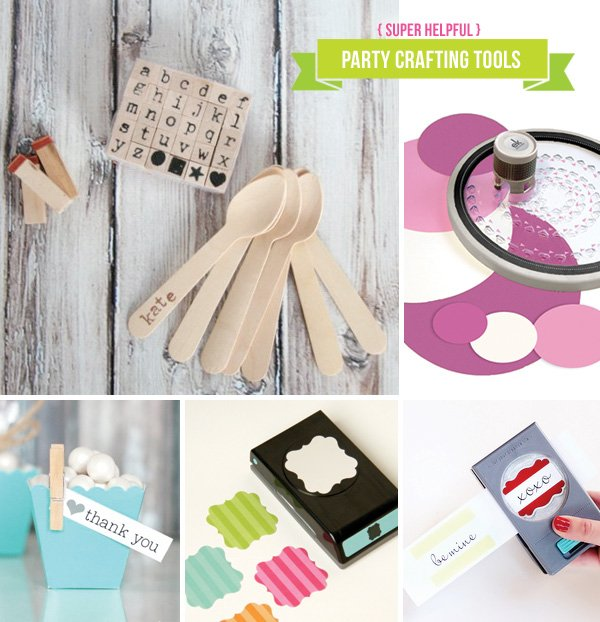 party crafting tools