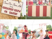 Circus Halloween theme party