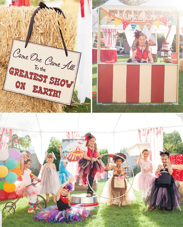 Circus Halloween theme party