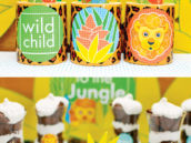kids jungle desserts