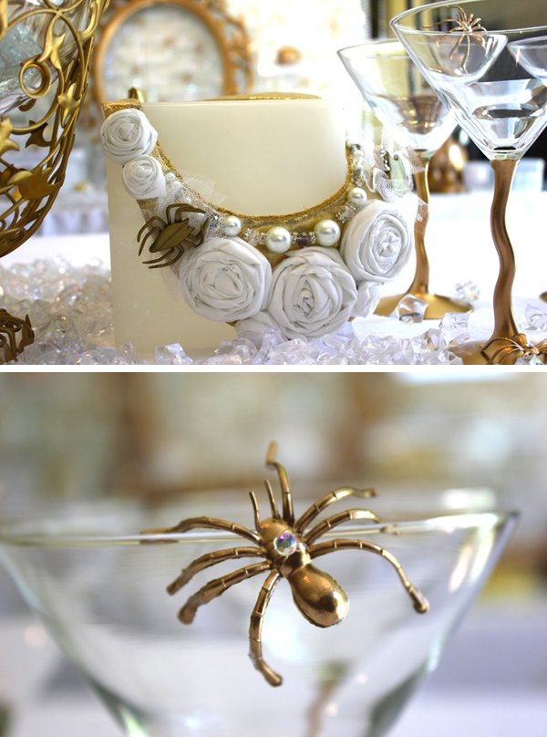 spider couture necklace