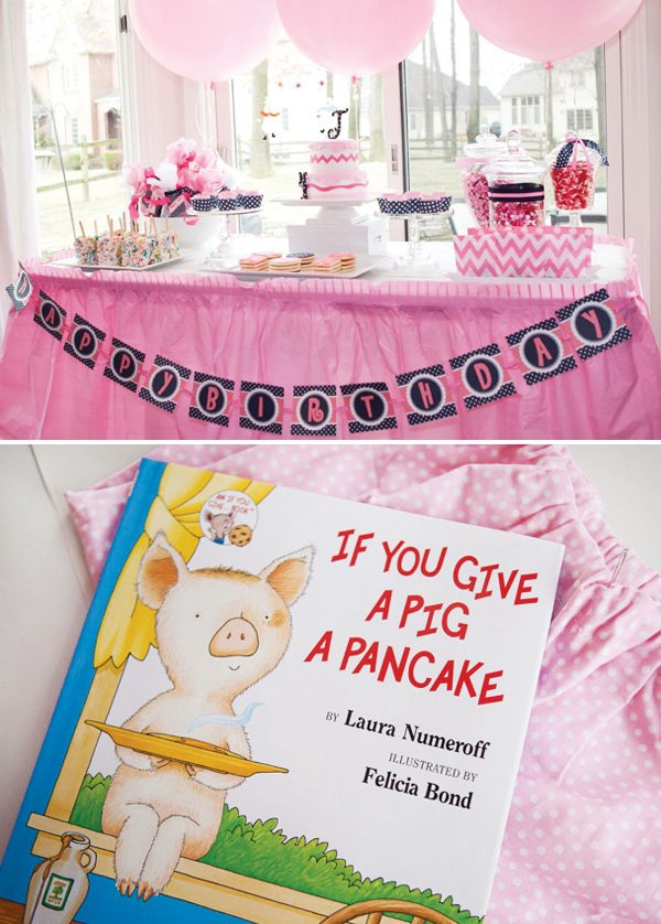 if you give a pig a pancake pajama party