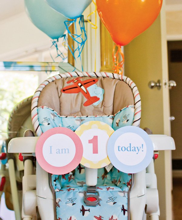 birthday highchair