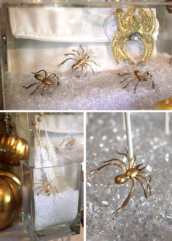 spider handbag and bling rock candy