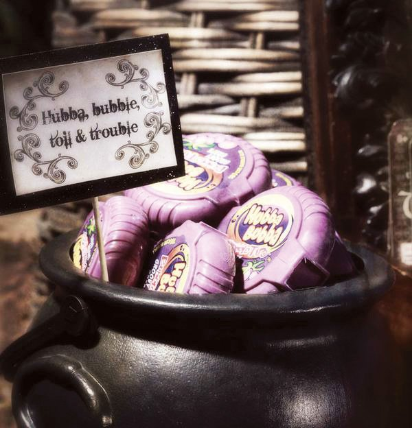 bubble gum cauldron