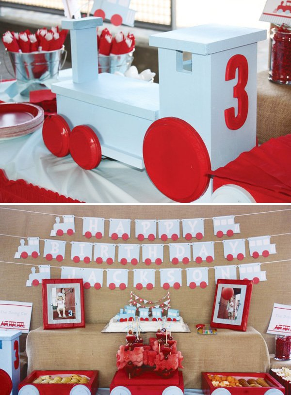 choo choo train party ideas