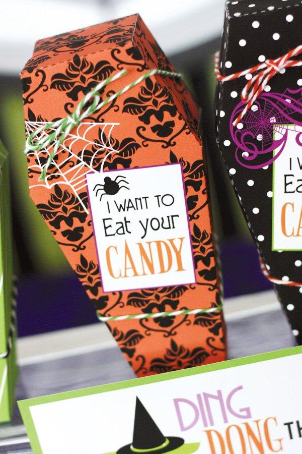 coffin candy box