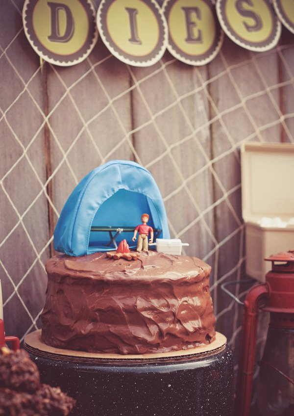 easy camping cake