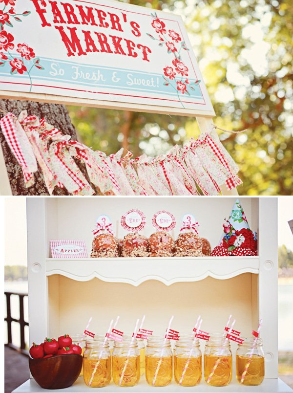 ripped fabric bunting