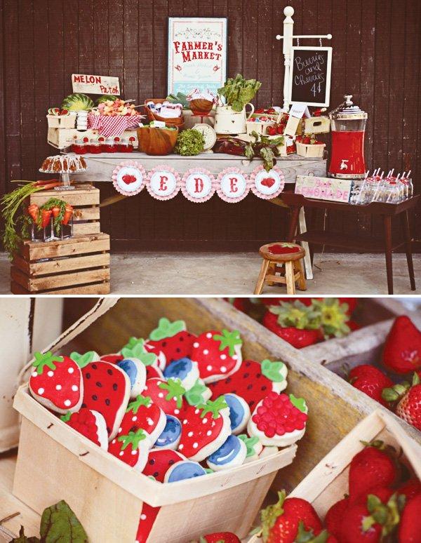 berry sugar cookies