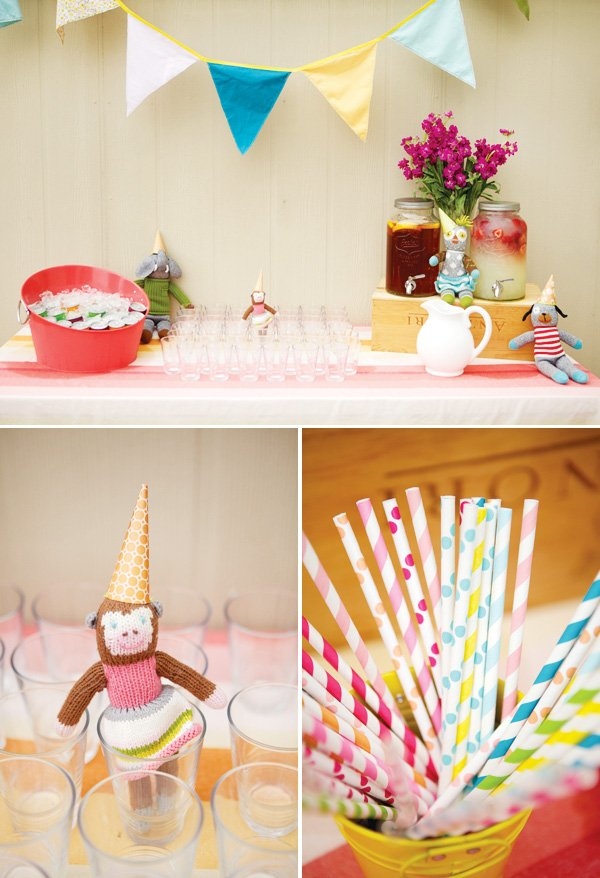 girly first birthday party decorations