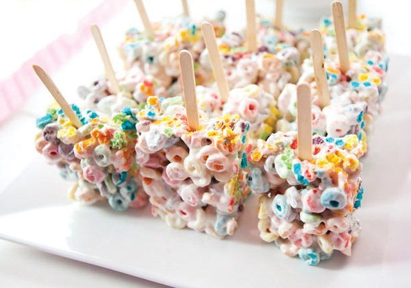 fruit loop cereal bars