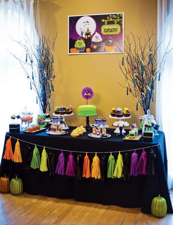halloween dessert table ideas