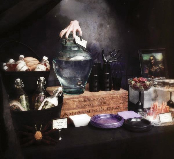 Halloween water table
