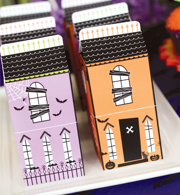 haunted house cartons
