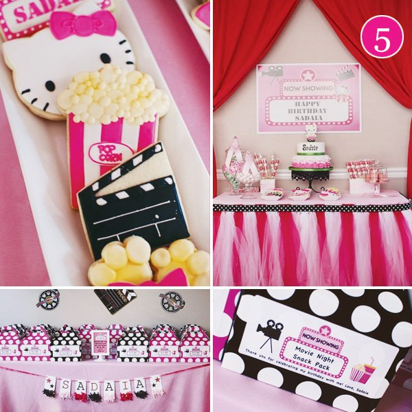 hello kitty movie party