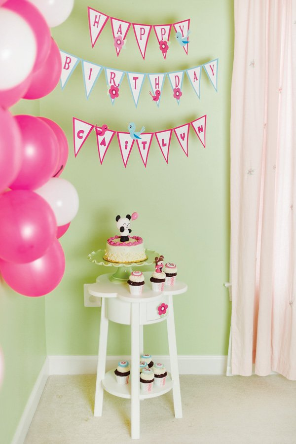 kawaii love birthday party