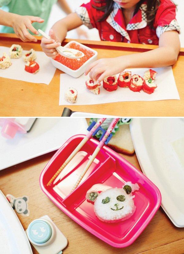 kids sushi activity