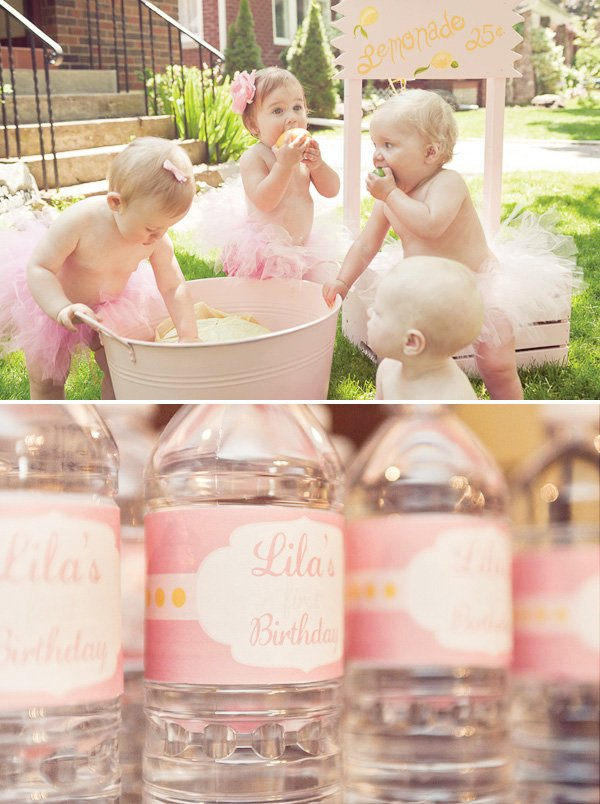 lemonade and tutu party