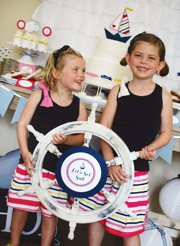Ship captain's wheel