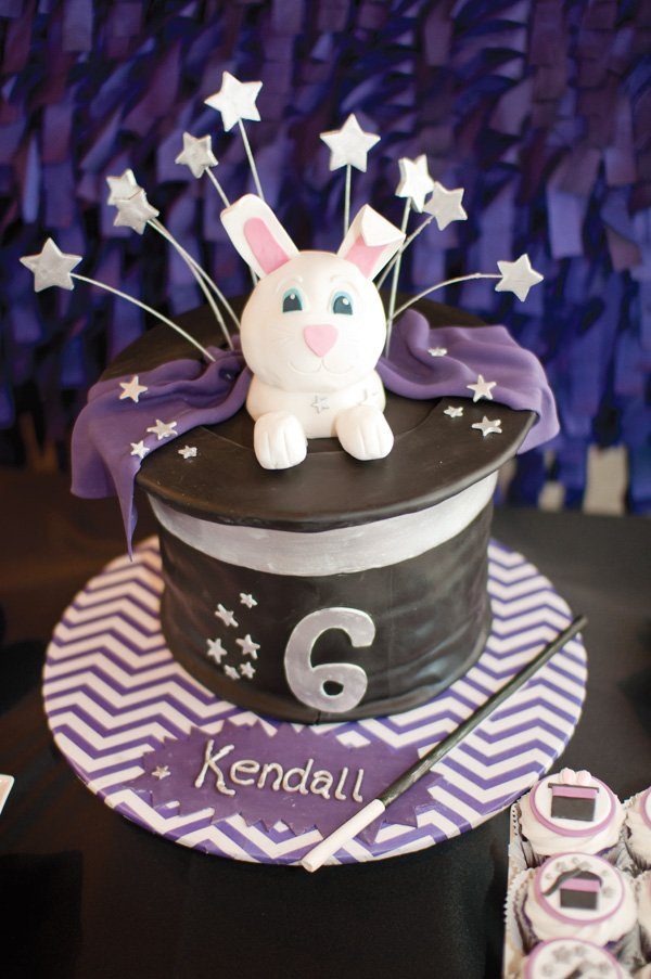 Magic rabbit cake