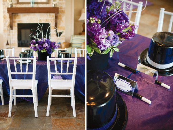Top hat centerpieces