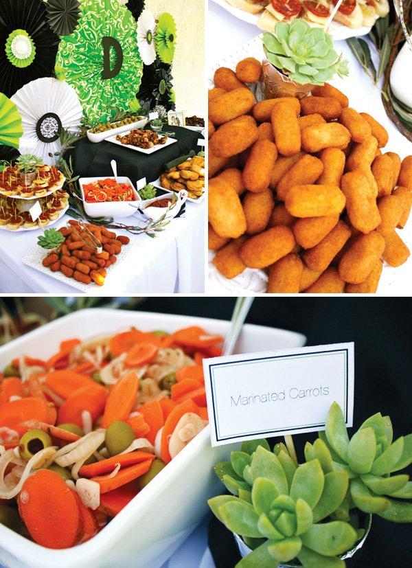 modern spanish buffet