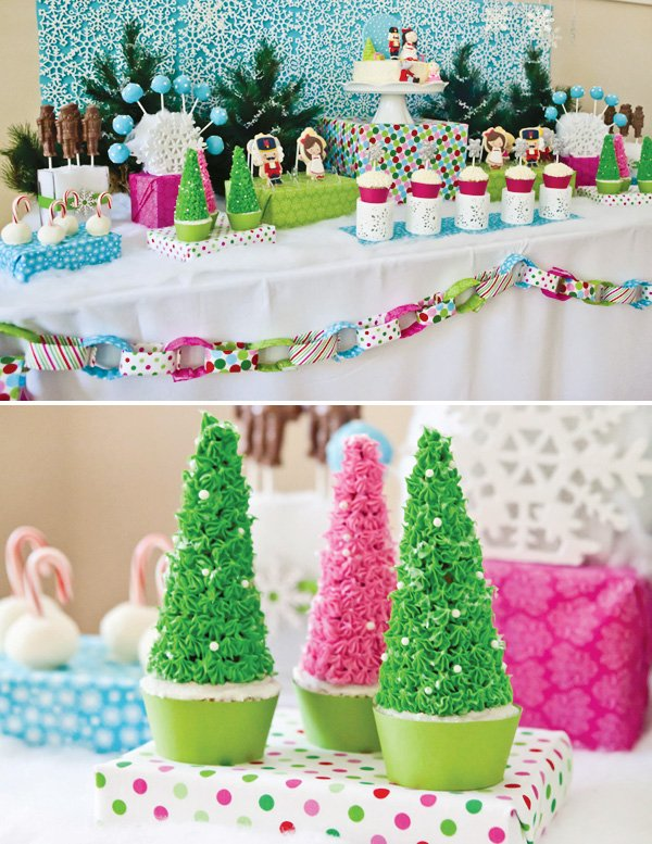 Nutcracker dessert table