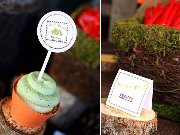 Backyard Camping Party Ideas : Pics Photos  Outdoor Backyard Camping Party Ideas Food Label