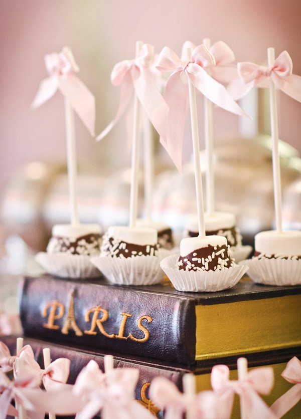 french batmitzvah desserts