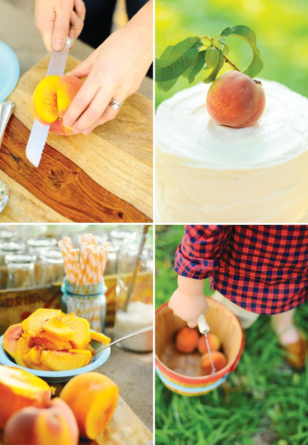 peach picking party ideas