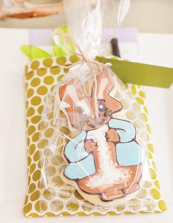 peter rabbit cookie