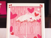 showered with love baby shower - party printables