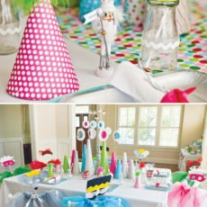 Nutcracker party table decorations