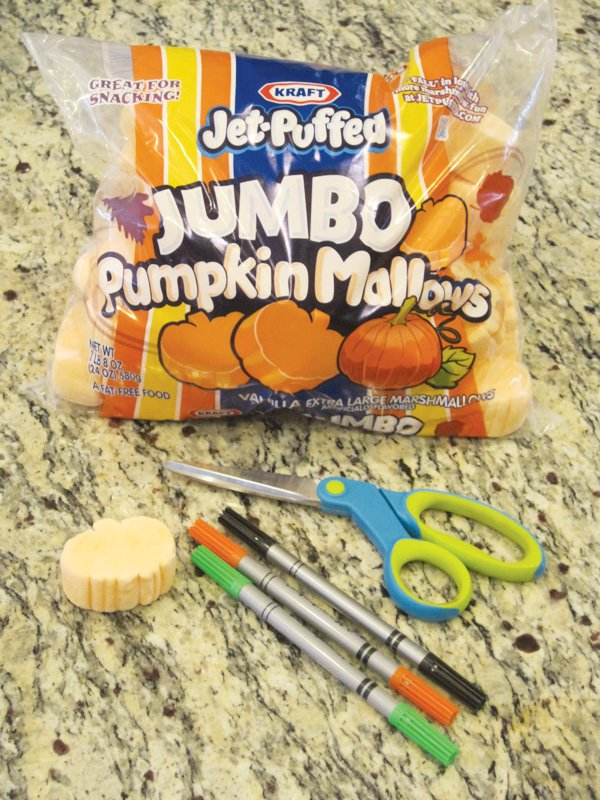 pumpkin garnish for halloween supplies