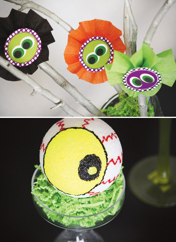 styrofoam eyeball