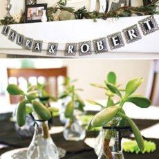 succulent decorations