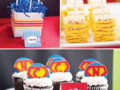 superhero comic desserts