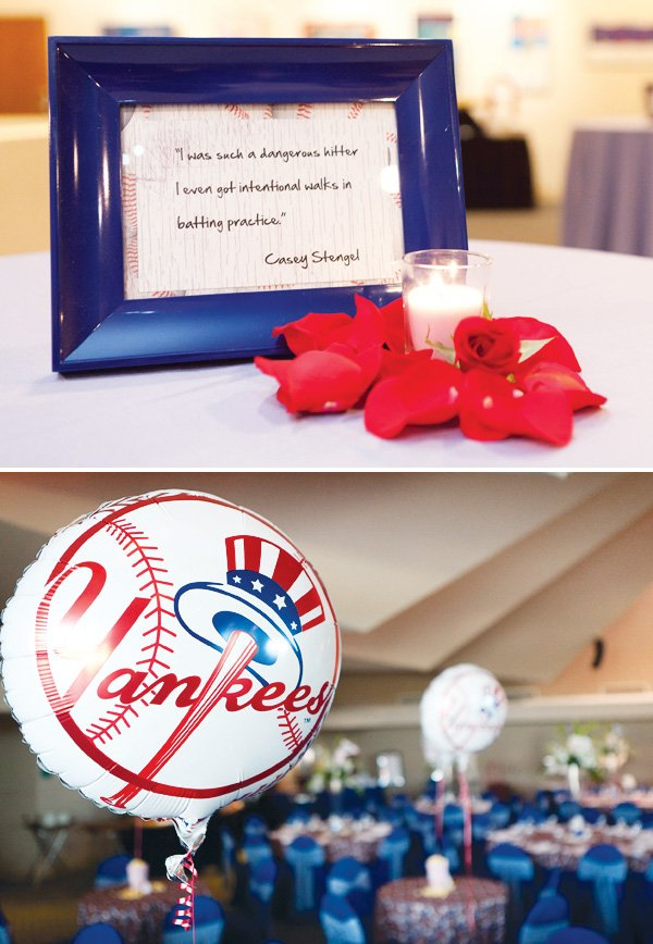 yankees baseball bar mitzvah celebration