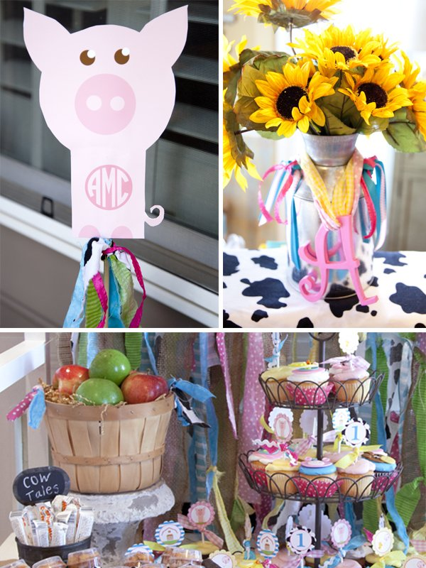 personalized barnyard party