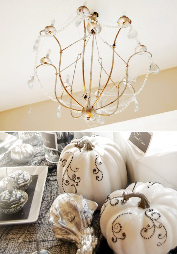 halloween chic decor