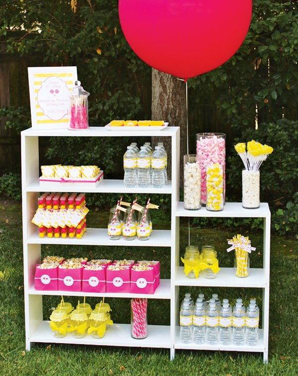 lemonade and lollipops party theme