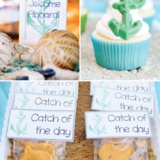 anchor cupcake toppers