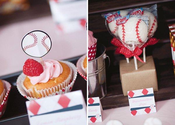 baseball theme desserts